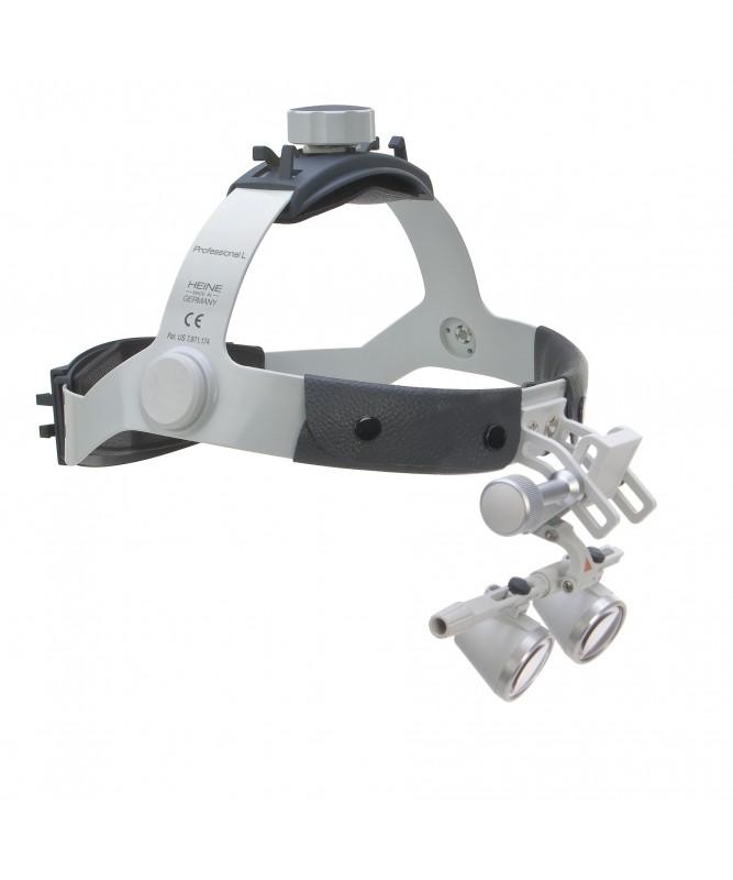 Lupas Binoculares HEINE HR 2.5x 420mm Set C