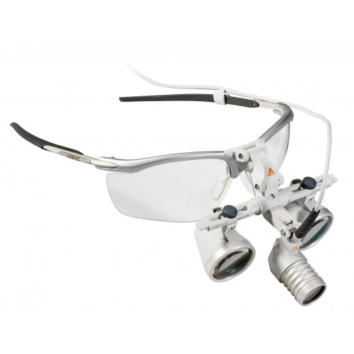 Set HEINE LoupeLight 2 con Optica HR 2.5x