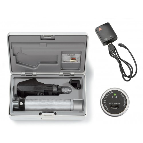 Set Retinoscopio HEINE BETA 200 con BETA 4 USB