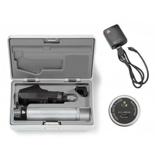 Set Retinoscopio HEINE BETA 200 LED con BETA 4 USB+