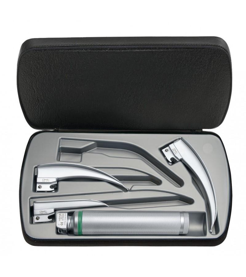 Set de laringoscopio HEINE Classic+ F.O. LED