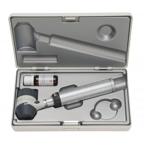 Conjunto de Dermatoscopio HEINE DELTA 20 T + BETA