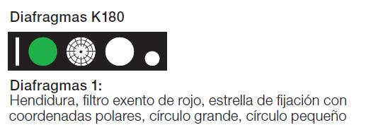 HEINE K 180 Diafragmas 1